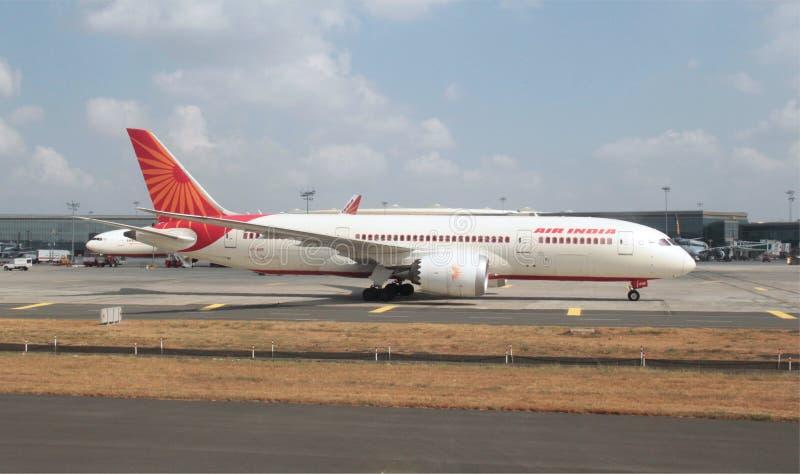 Air India Dream Liner stock image