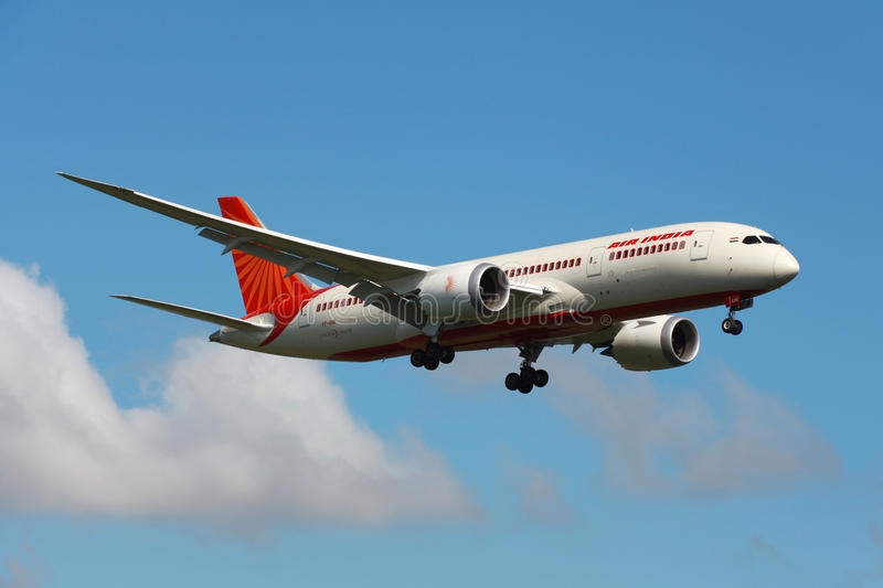 Air India Boeing 787 Dreamliner immagini stock