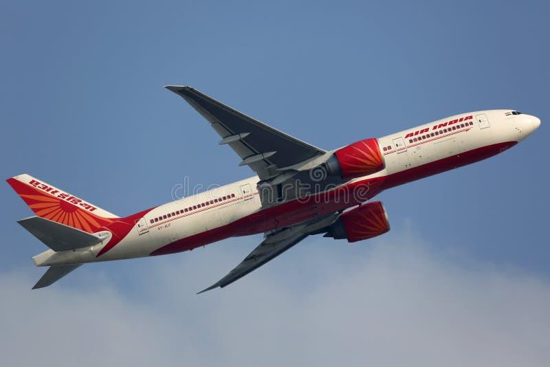 Air India Boeing 777-200LR royalty-vrije stock fotografie