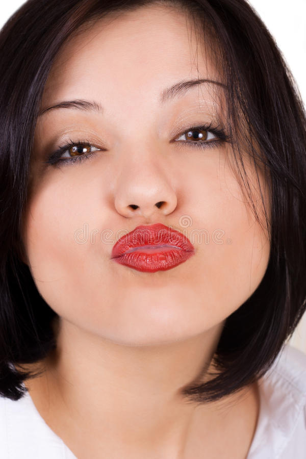 Download Air kiss stock image. Image of attractive, care, charming - 20087487