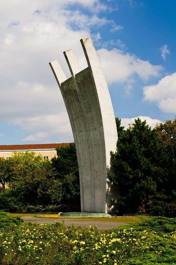 Air lift memorial, berlin stock images