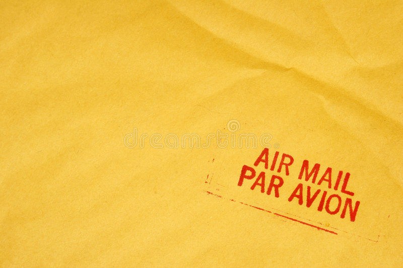 Download Air Mai lEnvelope stock photo. Image of airplane, stamp - 469098