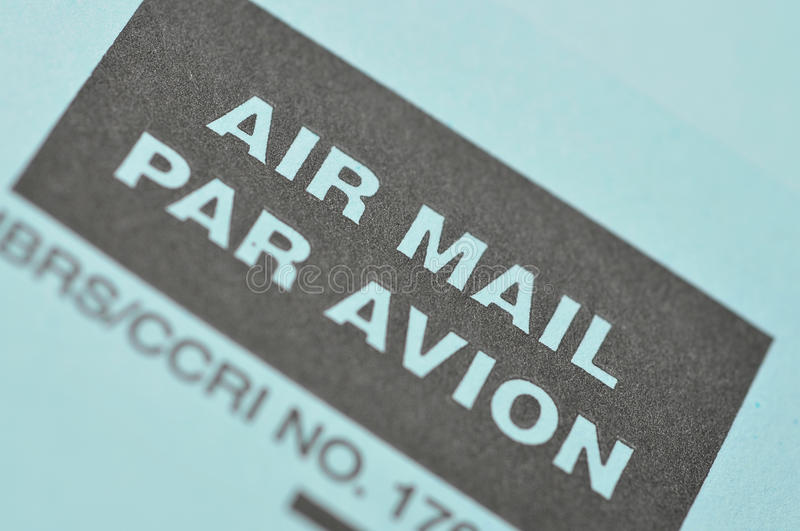Download Air Mail Royalty Free Stock Photo - Image: 10414385