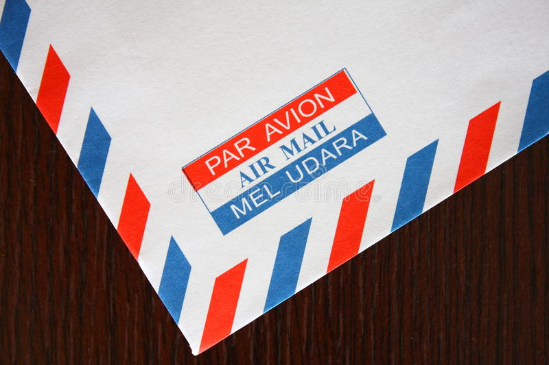 Download Air Mail stock image. Image of white, detail, mailman - 15791967