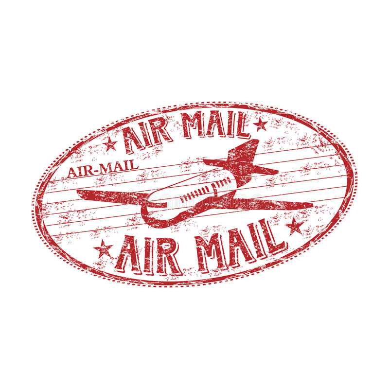 Download Air Mail Rubber Stamp Royalty Free Stock Image - Image: 14141206