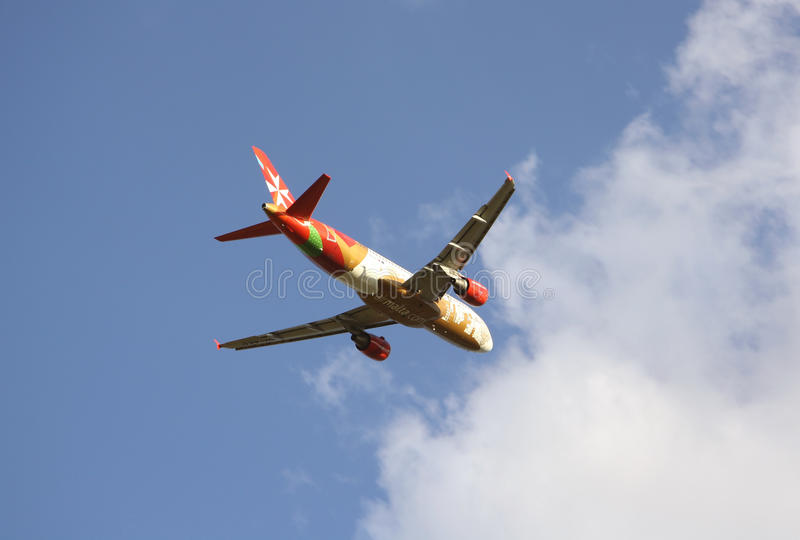 Download Air Malta Airlines Aircraft Editorial Photo - Image: 32798261