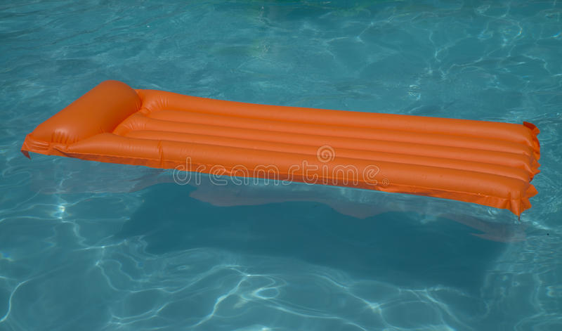Air Mattress Floating In Pool Stock Photo Image 42200288