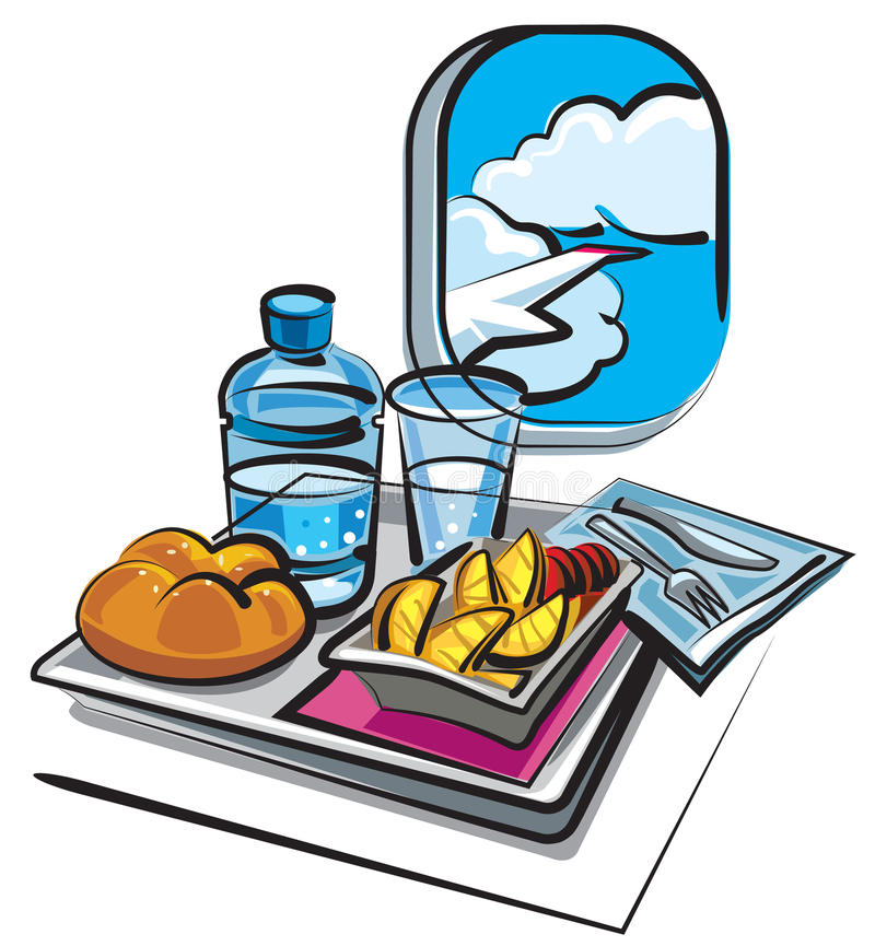 Air Meal Stock Images