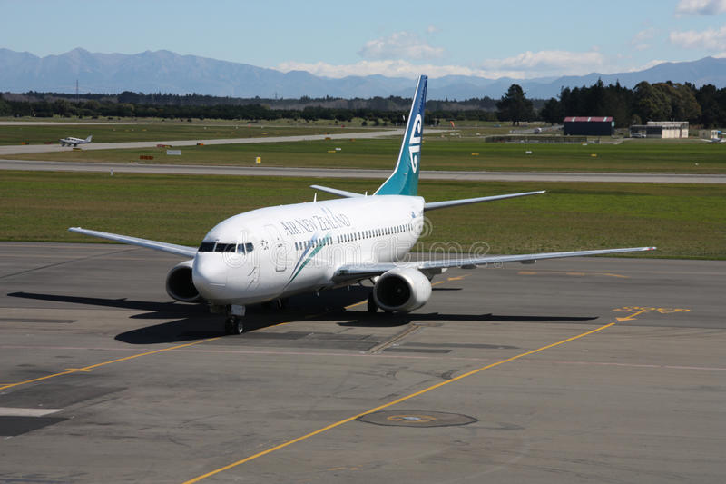 Air New Zealand photographie stock