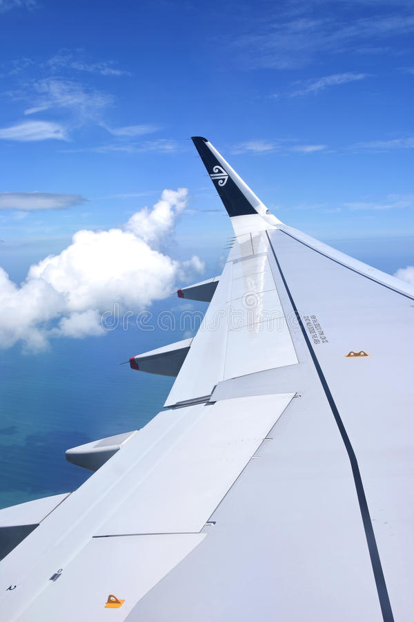 Air New Zealand image stock