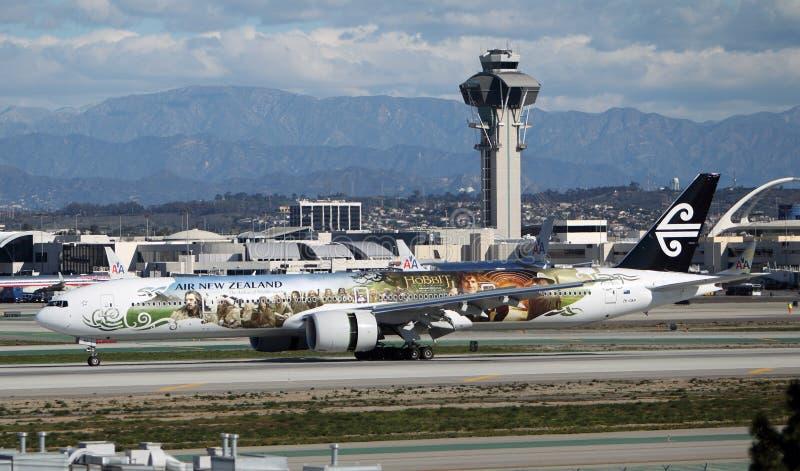 Air New Zealand Boeing 777-319/ER foto de archivo libre de regalías