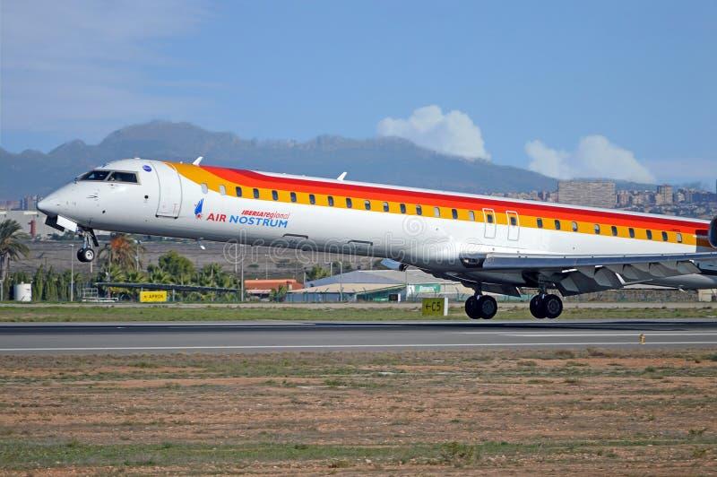 Air Nostrum - Alicante Airport stock photography