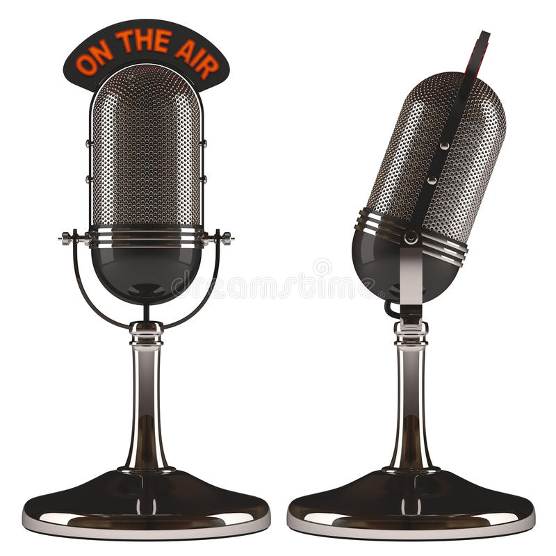 On The Air Royalty Free Stock Photo