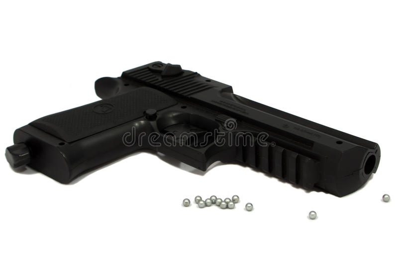 Air pistol royalty free stock image