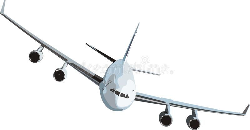 Air plane stock illustration
