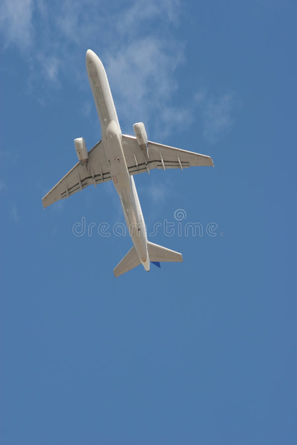 Download Air plane flying off stock photo. Image of power, pilot - 1406206