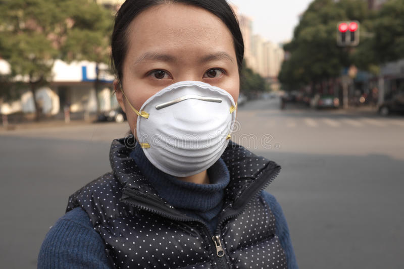 Air pollution royalty free stock image