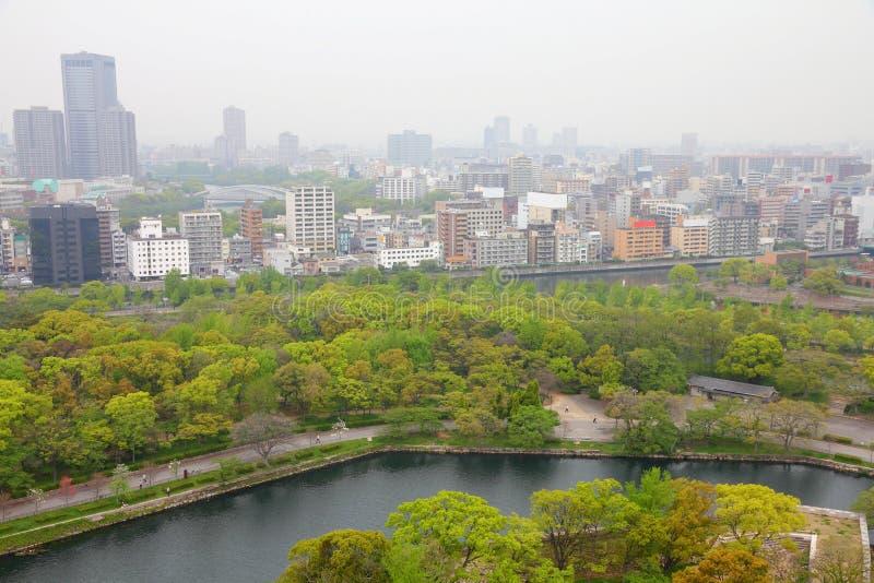 Air pollution in Japan - Osaka stock photo