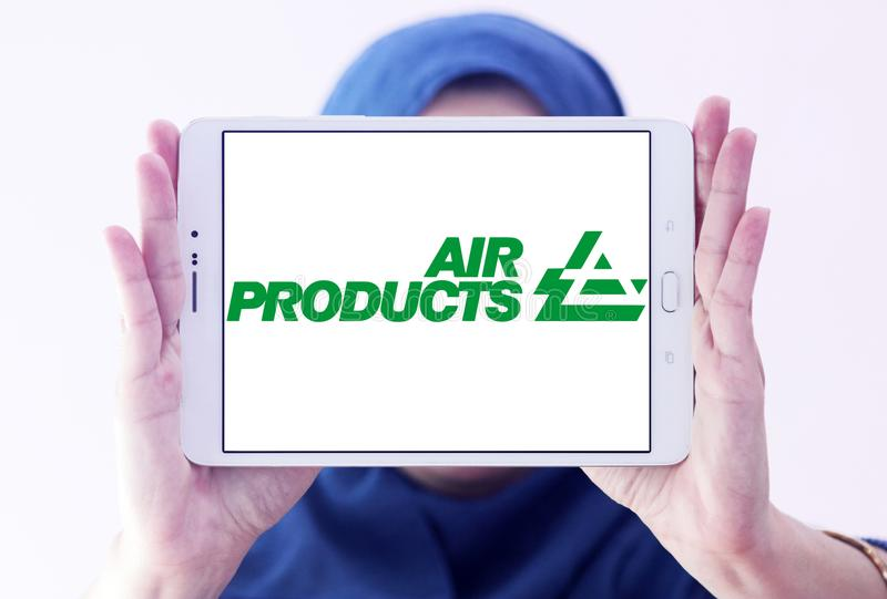 Air Products & Chemicals-bedrijfembleem royalty-vrije stock afbeeldingen