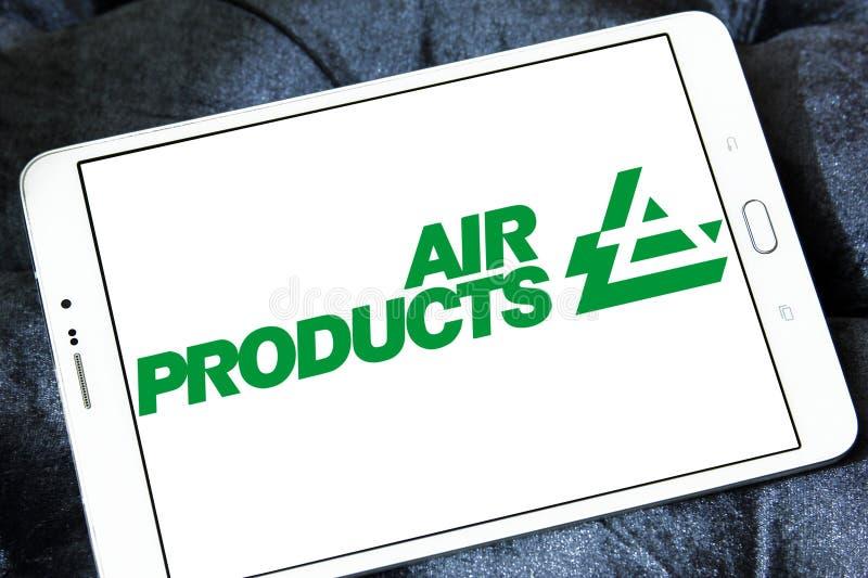 Air Products & Chemicals firmy logo zdjęcia royalty free