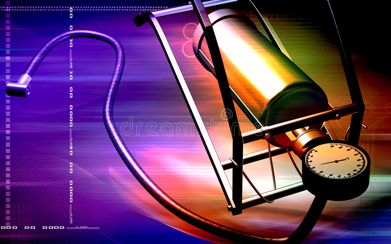 Download Air pump with  pedal stock illustration. Image of effects - 7282796