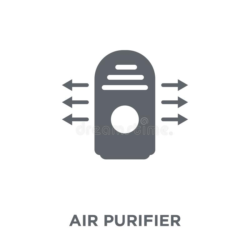 Air purifier icon from Electronic devices collection. Air purifier icon. Air purifier design concept from Electronic devices collection. Simple element vector vector illustration