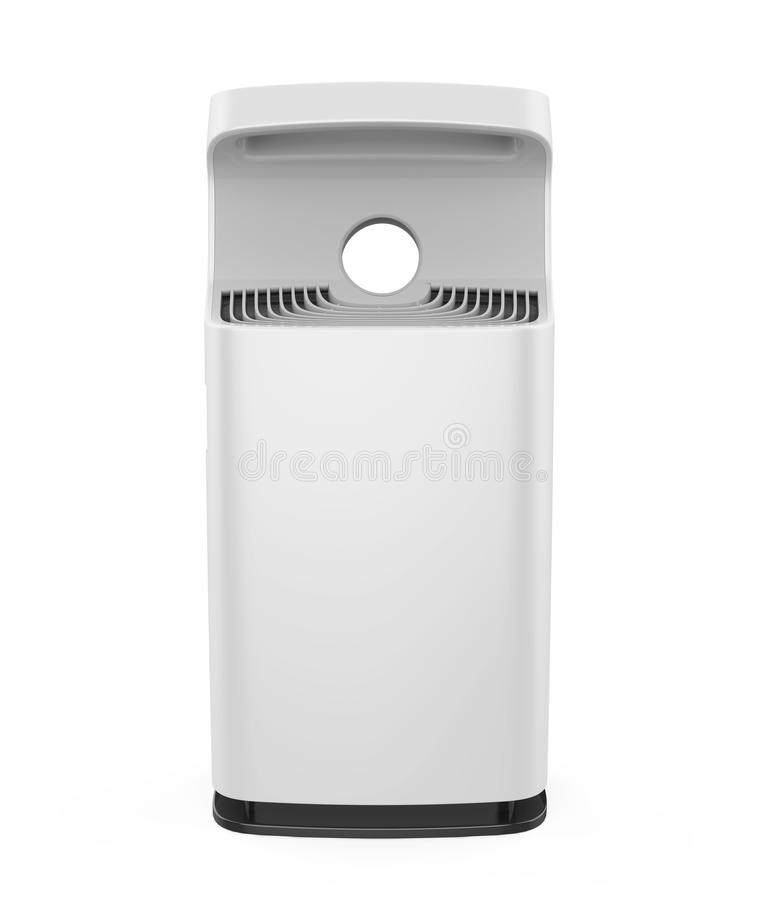 Air Purifier Isolated. On white background. 3D render stock illustration