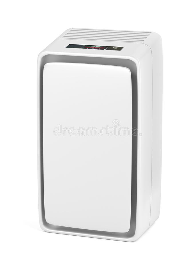Air purifier. On white background royalty free illustration