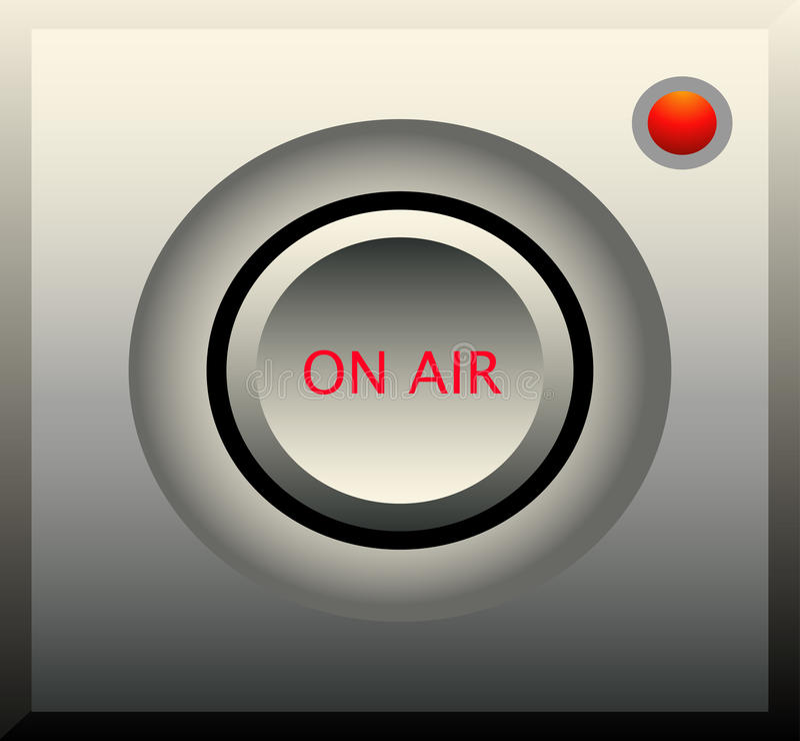 On Air Radio Icon Royalty Free Stock Image