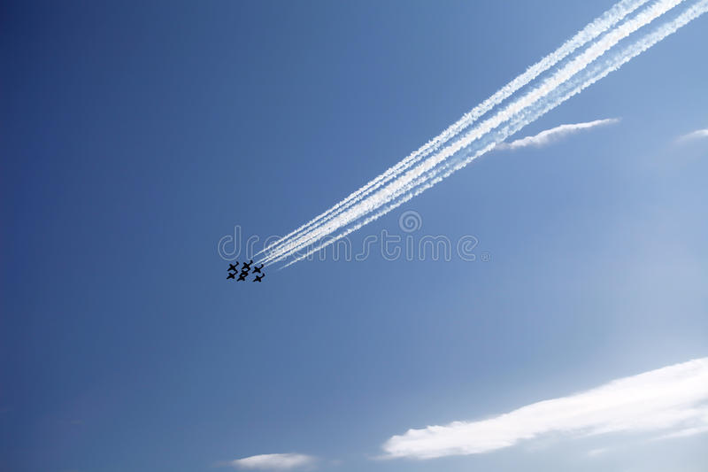 Download Air Show stock image. Image of pilot, blue, race, danger - 26549341