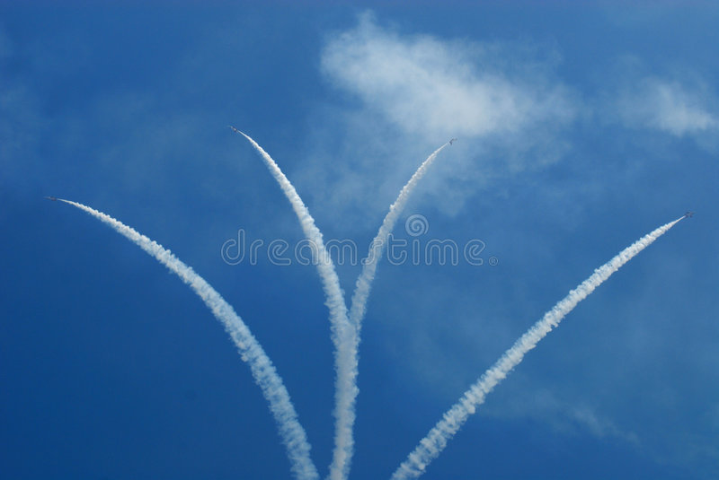 Air Show stock images