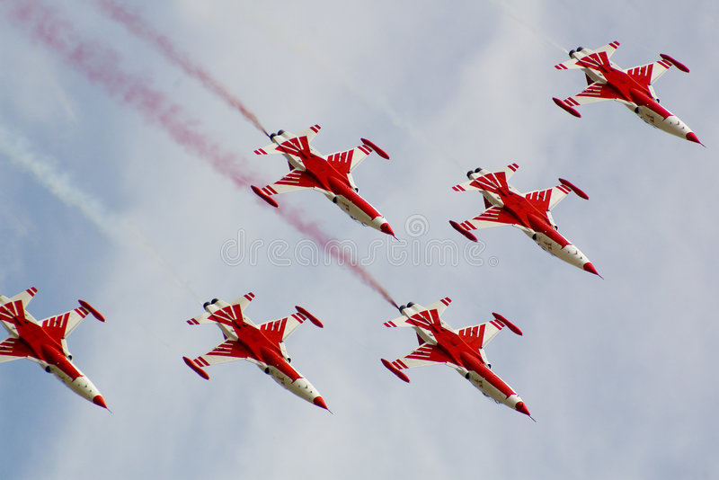 Air-Show stock image