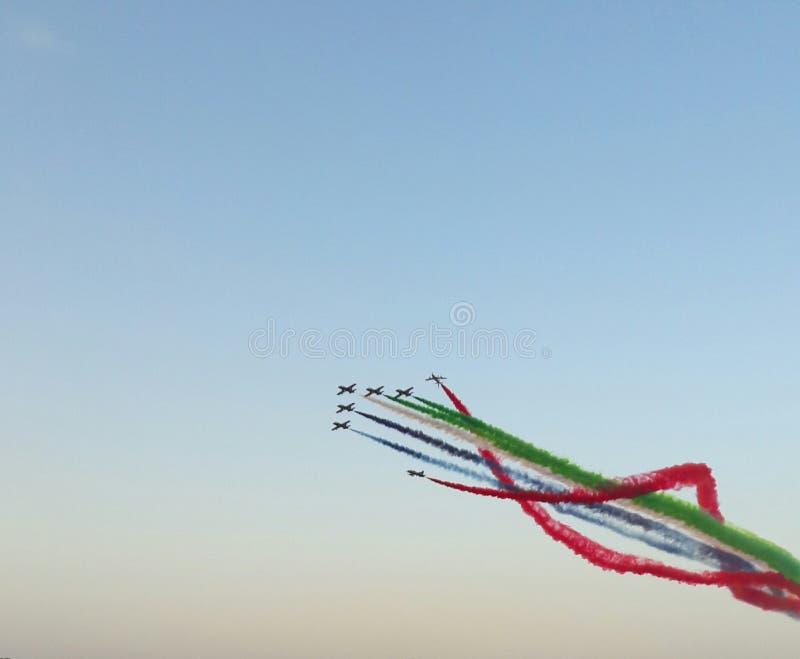 Air show stock photo