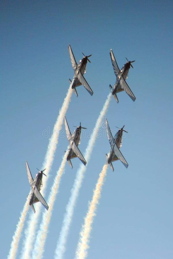 Air show. From a visit to the Swartkop air show in Pretoria, South Africa royalty free stock photo