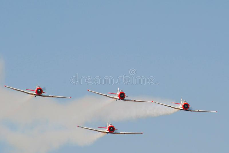Air show. From a visit to the Swartkop air show in Pretoria, South Africa stock photo