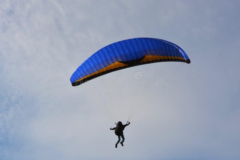 Air Sports, Paragliding, Parachute, Parachuting stock image