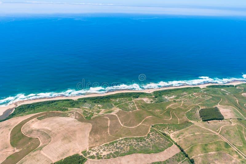 Air Sugar Cane Ocean Beach Stock Photography