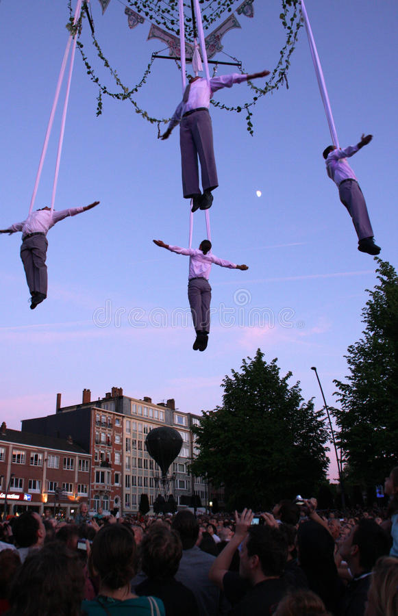 Download Air theater show editorial stock photo. Image of acrobats - 14455328