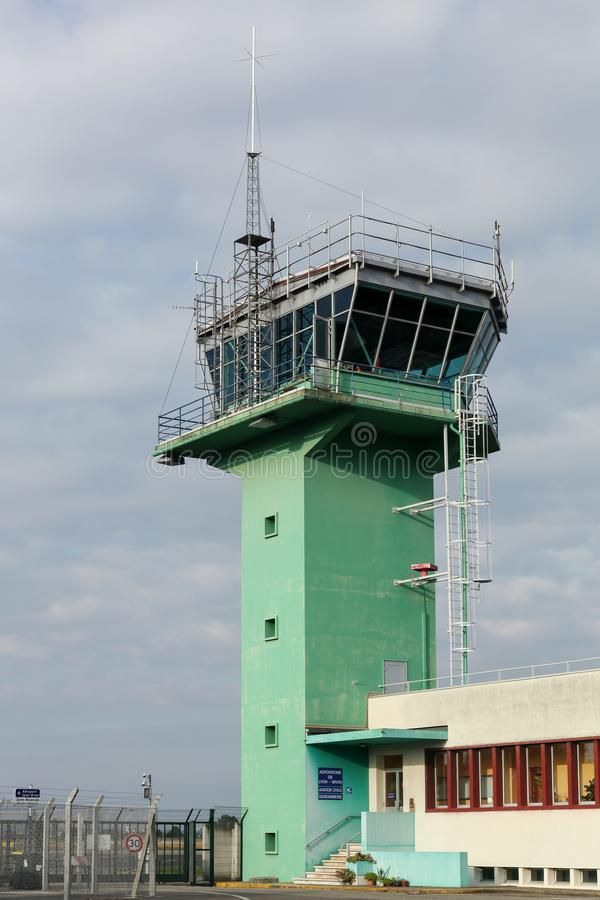 Air traffic control in Lyon Bron airport. France royalty free stock photos