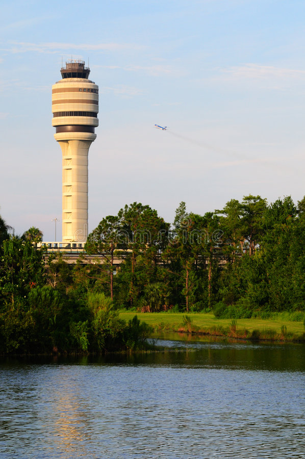 Free Air Traffic Control Tower Stock Photography - 7101162