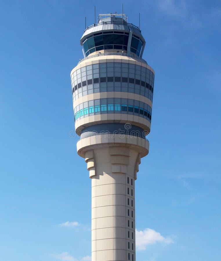 Air Traffic Control Tower at Atlanta Hartsfield-Jackson Airport royalty free stock image