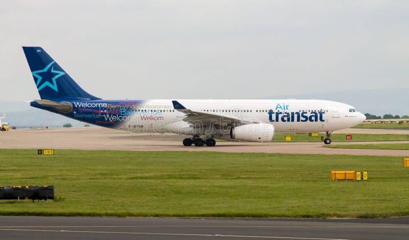Air Transat Airbus A330 images libres de droits