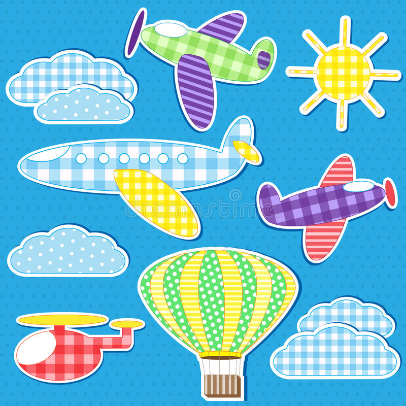 Download Air transport stock vector. Image of flying, background - 24913555