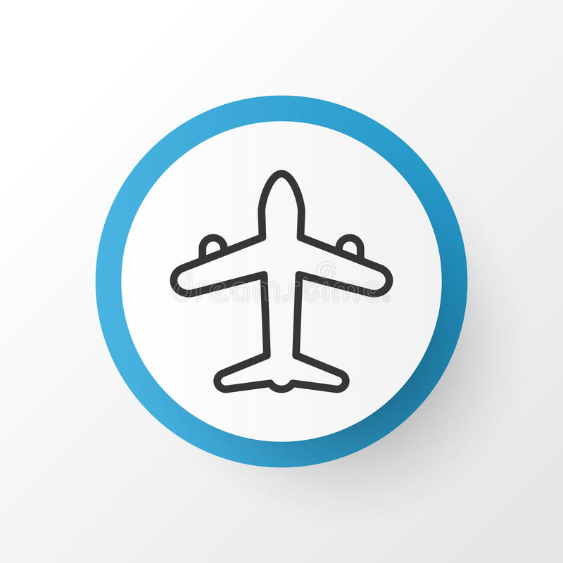 Air Transport Icon Symbol. Premium Quality Isolated Jet Element In Trendy Style. vector illustration