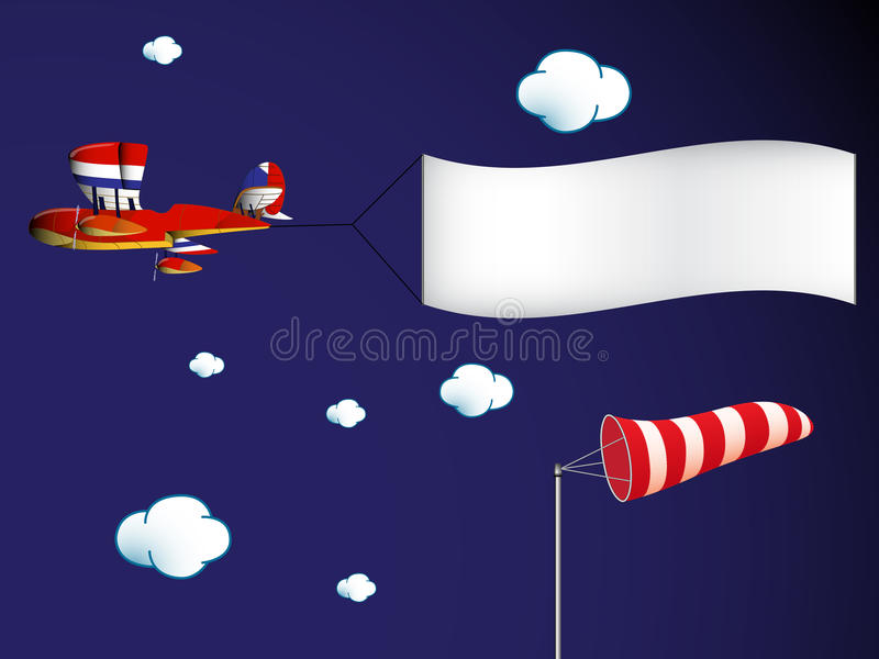 Download Air transportation stock vector. Image of blue, measurement - 25877774