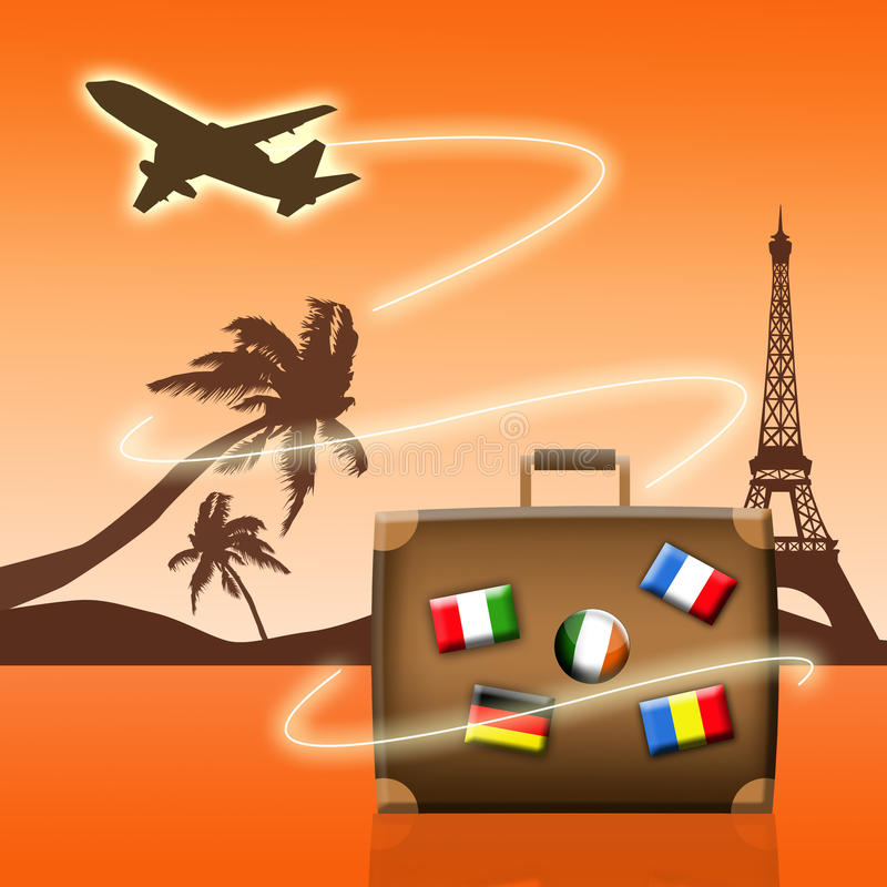 Air Travel Royalty Free Stock Photography