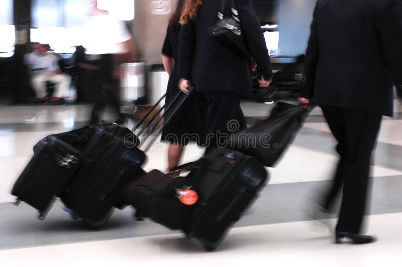 Air Travelers royalty free stock image