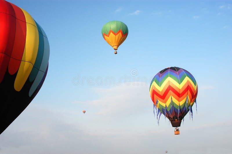 air varma ballonger royaltyfri foto