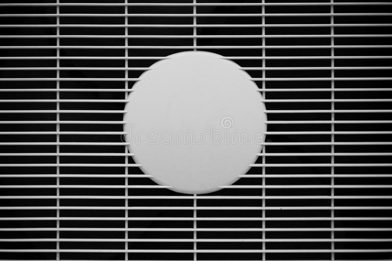 Air vent, air grill. Of air conditioner royalty free stock image