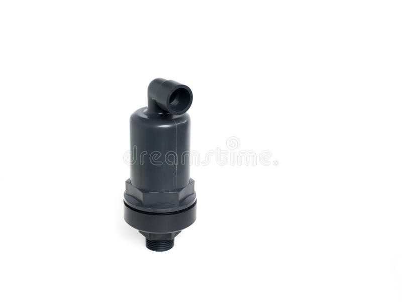 Air vent valve. royalty free stock photo